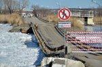 Понтонный мост оказался уязвимым звеном транспортной системы Каменска