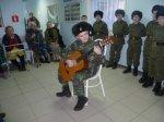 Встреча кадетов старших взводов в Белокалитвинском казачьем кадетском корпусе