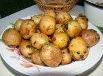 Молодой картофель запеченный
