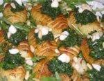 Печеная картошка с пряной зеленью