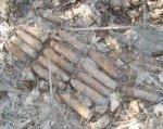 В Новошахтинске уничтожили 21 ружейную гранату времен ВОВ