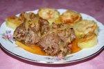 Мясные рулетики из телятины с овощами и грибами - зразы
