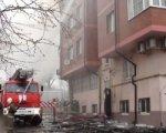 Мэрия Ростова: к пожару на Текучева, 18 привел взрыв газа