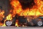Загорелся «Форд» в гараже на ул. Советская в г. Шахты
