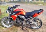 В г. Шахты на Пасху столкнулся мотоцикл Racer RC250CK с «шестеркой»