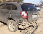В Ростове пьяный водитель протаранил шесть машин и пытался скрыться