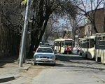 В Ростове на ул. Станиславского трамвай сошел с рельсов