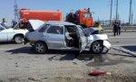 В Городищенском районе Волгограда столкнулись 4 машины