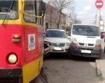 В Ростове ДТП с трамваем парализовало движение по ул. Депутатская