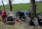 В г. Шахты «десятка» врезалась в дерево, пострадали два человека