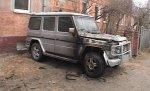В Волгограде ночью сгорел Mercedes Gelandewagen