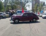 В Ростове финишировал автопробег в честь юбилея Победы