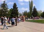 Белокалитвинцы празднуют 1 мая 2015 г