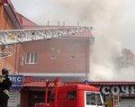 В Ростове горит сауна на площади 300 кв. м