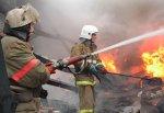 Сгорел магазин в городе Шахты