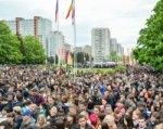 Ростовчане побили свой рекорд по массовому исполнению «Дня Победы»