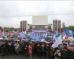 Около 20 тысяч ростовчан спели хором песню «День Победы»