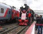 Около двух тысяч ростовчан встретили на вокзале ретро-поезд