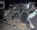 В Аксайском районе при столкновении Renault и MAN погиб водитель