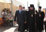 В г. Шахты работает православная ярмарка с 14 по 19 мая перед Кафедральным собором