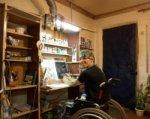 Инвалид-колясочник из Таганрога отправился автостопом на Сахалин