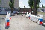 Открытие новой спортивной площадки на стадионе в Белой Калитва