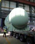 На Ростовскую АЭС отправлен корпус реактора для четвертого энергоблока