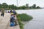 В парке им. Маяковского прошли соревнования по спортивной рыбалке