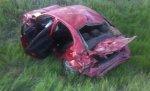 Под Волгоградом водитель без прав перевернулся на «Mitsubishi» и погиб