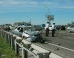 В лобовом ДТП под Ростовом погиб один человек, двое пострадали