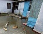 В Ростове после дождя подтопило несколько домов