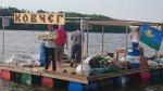 Сплавляться на плоту по Северскому Донцу – хорошая традиция