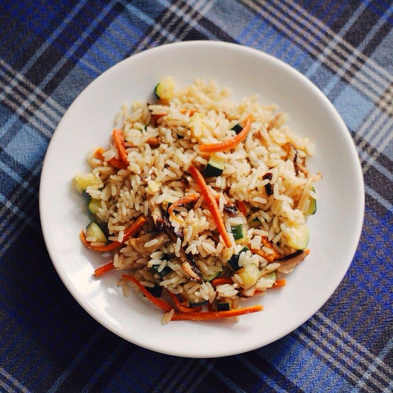 Жареный рис китайски рецепт фото