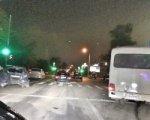 В Ростове на ул. Малиновского маршрутка снесла три машины