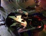 В Ростове на Западном пьяный байкер врезался в иномарку