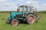 Угнали трактор на автозаправке в Ростовской области