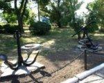 Аллея из поднятых со дна якорей петровской эпохи появилась в Таганроге