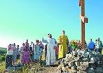 Новый Поклонный крест воздвигли в Белой Калитве