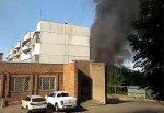 В г. Шахты едва не сгорел 5-ти этажный дом