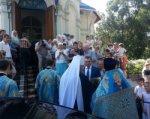 В Ростове отметили престольный праздник храма иконы «Умиление»