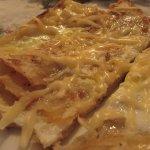Лаваш с яйцом и сыром, или ёка
