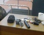 В МАПП «Новошахтинск» изъяли похожие на прицел и глушитель предметы