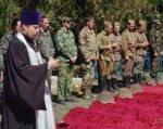 В селе Русском с почестями похоронили 155 солдат ВОВ