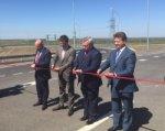 Министр транспорта РФ проехал за рулем по новой трассе Ростов–Азов
