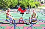 В Белой Калитве появились новые детские площадки