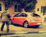 В Азове за рулем «виновного» в ДТП автомобиля была экс-сотрудница МВД