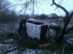 В поселке Ясногорке в результате ДТП погиб водитель автомобиля ВАЗ 2106