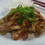Курица с овощами по‑китайски