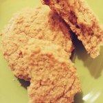 Рисовое печенье с кешью и имбирем