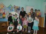 В Белокалитвинском районе ребятам из детского сада «Вишенка» рассказали о правилах дорожной безопасности